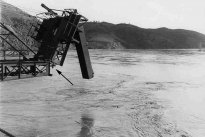 From 19th to the 22nd December 1958 the Guadiana River floods up to the Puerto de la Laja